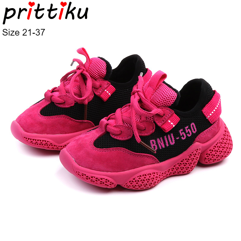Winter 2018 Girls Boys Fashion Velvet Lined Sneakers Baby/Toddler/Little/Big Kid Genuine Leather Brand Trainers Child Warm Shoes