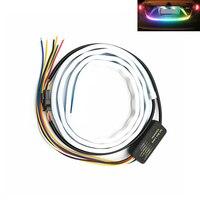 Car LED Strip Lighting Rear Trunk Tail Light Dynamic Streamer Warning Light For audi a4 a5 a6 b5 b6 b7 q3 q5 q7 rs c5 c6 tt a3