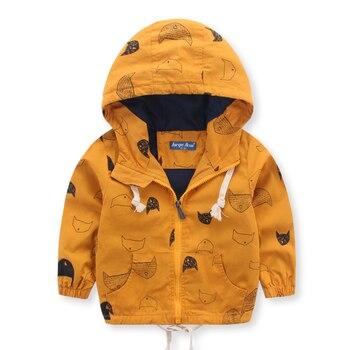 HOT spring autunno inverno di buona qualità del ragazzo del cardigan dei bambini di pesce modello di vestiti per bambini del rivestimento della chiusura lampo del bambino del cotone della tuta sportiva