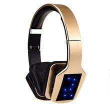 Bezprzewodowe słuchawki Stereo Bluetooth S650 zestaw słuchawkowy z mikrofonem Bluetooth wsparcie redukcja szumów Radio FM karty TF