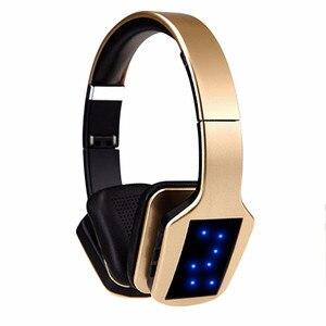 Image 1 - Bezprzewodowe słuchawki Stereo Bluetooth S650 zestaw słuchawkowy z mikrofonem Bluetooth wsparcie redukcja szumów Radio FM karty TF