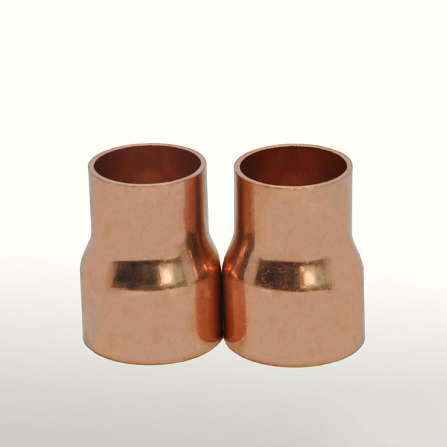 42mmX22mm Inner Diameter Copper End Feed Straight Reducing Coupling Plumbing Fitting Scoket Weld Water Gas Oil