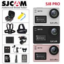 In Stock! SJCAM SJ8 Pro 1290P 4K 60fps WiFi Remote Anti-Shake Dual Touch Screen Helmet Spo