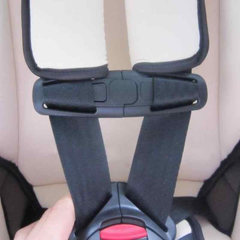 รถเด็กเด็กความปลอดภัยสายรัดหน้าอกคลิป Buckle Latch ไนล่อน PA66 14.5x4 ซม.ใหม่