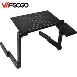 Wfgogo computer desks portable adjustable foldable laptop notebook lap pc folding desk table vented stand bed.jpg 250x250