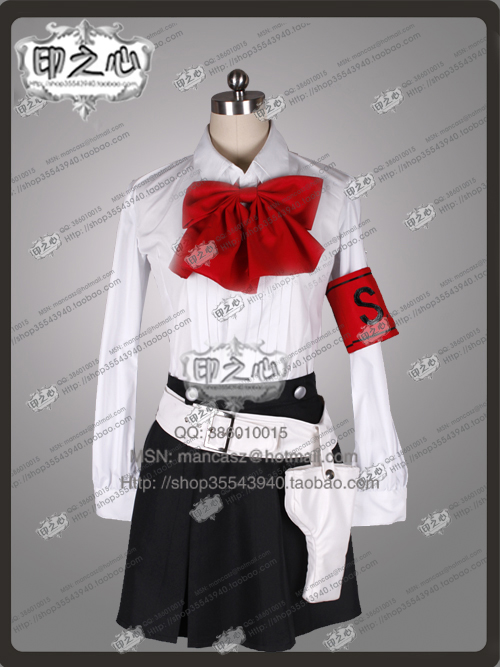 Shin Megami Tensei Persona 3 Mitsuru Kirijo Cosplay Costume top+skirt with bag