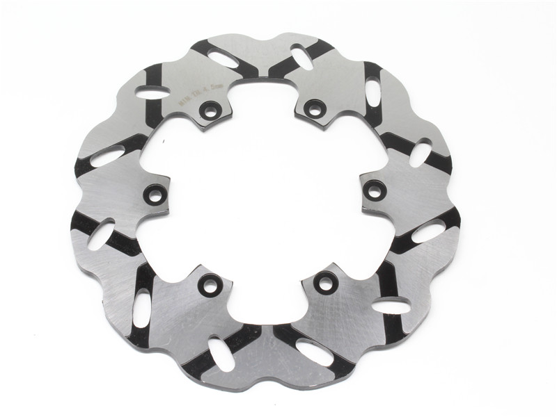 Motorcycle Rear Brake Disc Rotor For Y A M A H A FZ750 87-91 FZR750 Genesis 87 FZS1000 Fazer 01-05 XV1100 1999 XJR1200 1995-1998 2 pairs motorcycle brake pads for yamaha fzr 750 fzr750 genesis 1987 1988 sintered brake disc pad