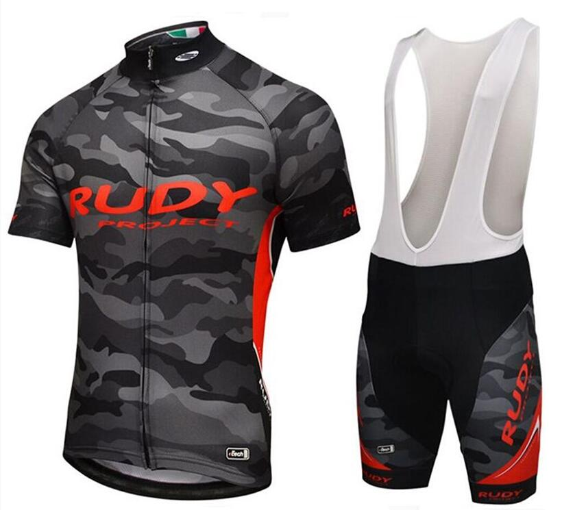 Rudy Pro Team Cycling Jersey Summer Ropa Ciclismo Sport MTB Bike Maillot Bicycle Wear BIB Shorts 9D GEL PAD Cycling Clothing 2018 pro team uae cycling jersey set new bicycle maillot mtb racing ropa ciclismo short sleeve summer bike clothing gel pad