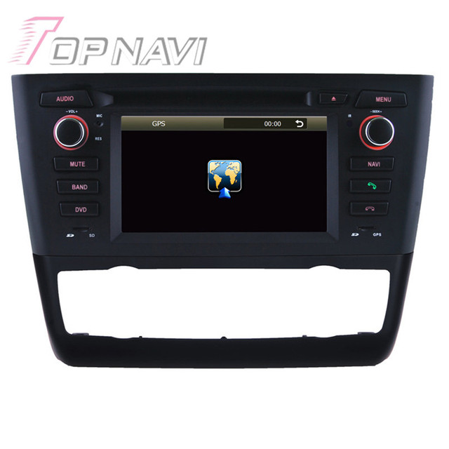 7 inch Wince Car Stereo For BMW E81 1 Series (2004 Onwards) Door Hatchback automatic air-conditioner+heated seat Car DVD Player