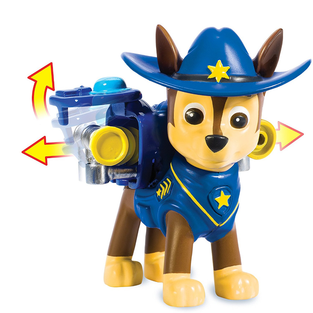 2018 Hot Genuine Paw Patrol -- rescue team Hero Pup, Cowboy chase --Action Pack Pup --patrulla canina kids toy with Original box Щенячий патруль