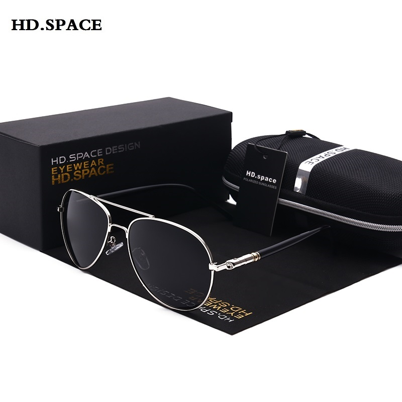 Estilo clássico Polarizada Óculos De Sol dos homens Do Vintage da moda lentes de sol mujer Novo designer da marca de óculos para o motorista do sexo masculino óculos de sol