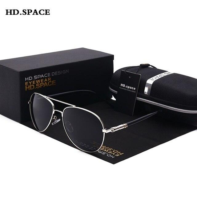 c57947b9225c4 Estilo clássico Polarizada Óculos De Sol dos homens Do Vintage da moda  lentes de sol mujer
