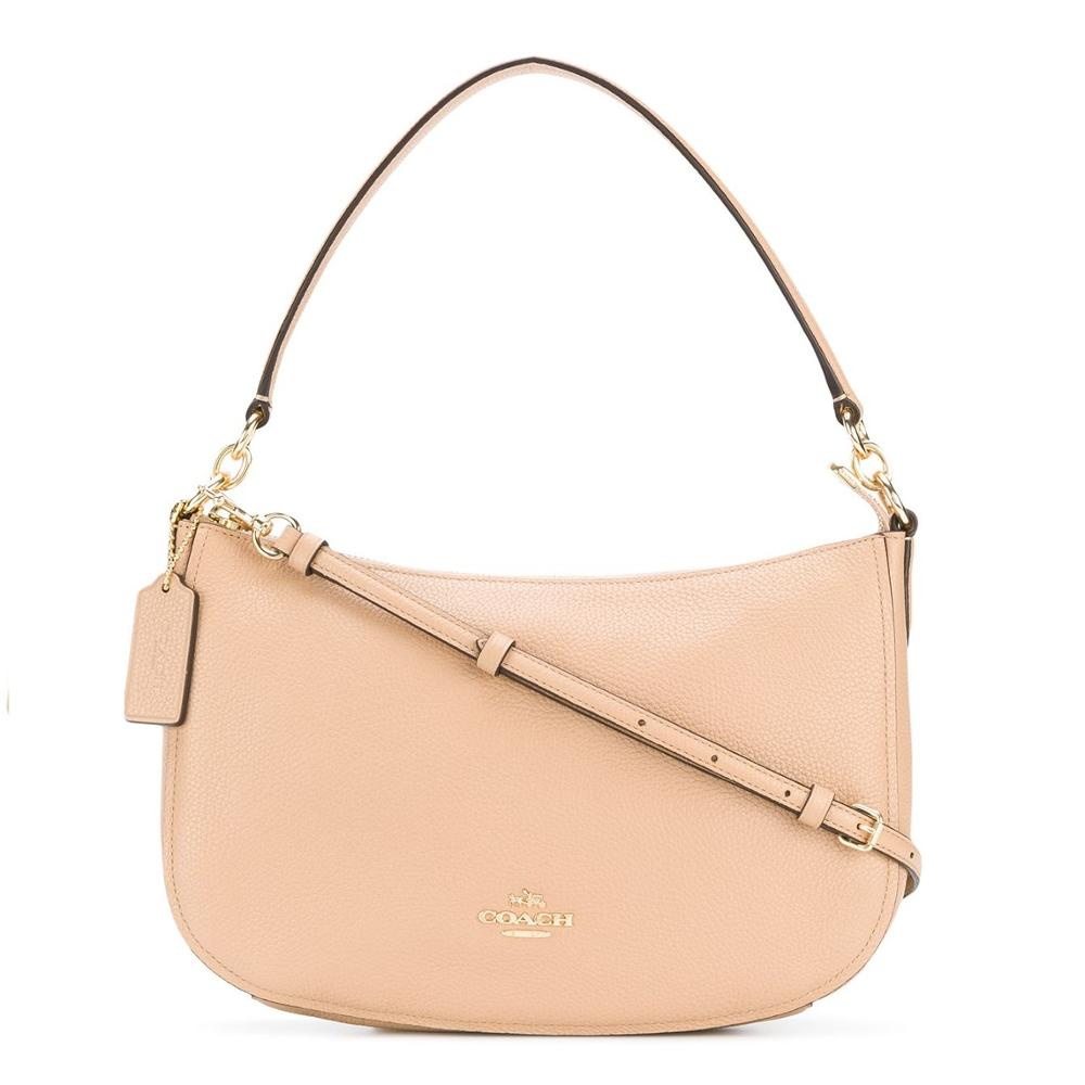 Coach Chelsea Crossbody in Pebble Leather (Beechwood/Gold)  Luxury Handbags For Women Bags Designer by CoachCoach Chelsea Crossbody in Pebble Leather (Beechwood/Gold)  Luxury Handbags For Women Bags Designer by Coach