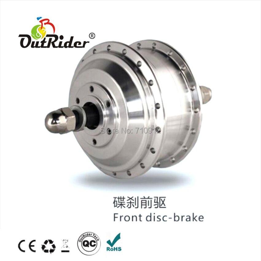 Outrider Rear Disc-brake 36V 500W Popular High-quality Powerful E-bike Motor Brush DC