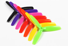 F18486 89 3 propeller 5X5X3 5 5 3 Plastic Colorful Propellers for DIY Drone Racer Quadrocopter