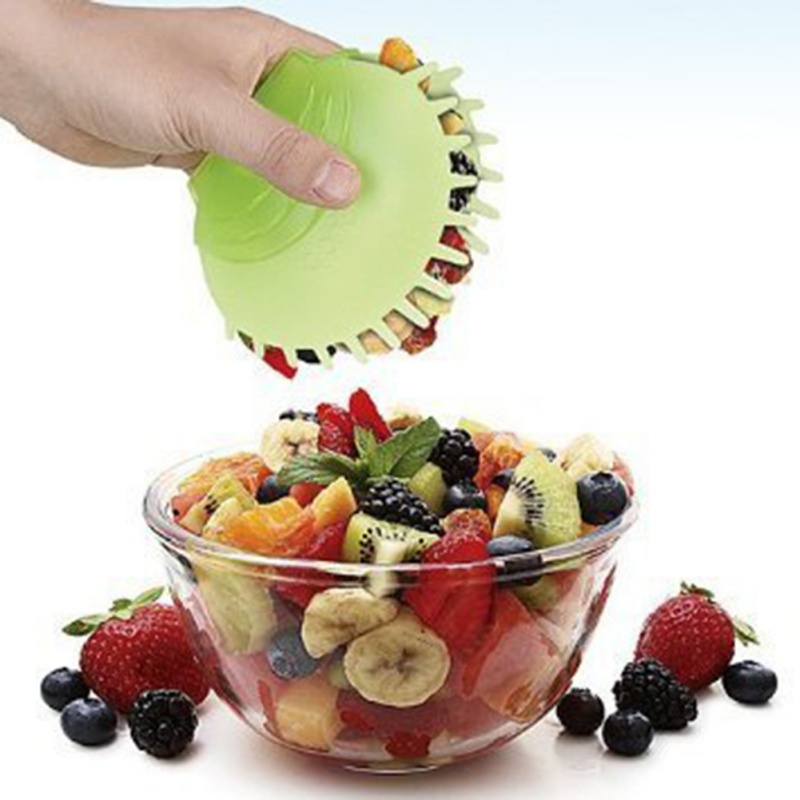 Eco-Friendly Food Tong Single Handed Salad Server Food Grade Salad Clip Kitchen Plastic Kitchen Gadgets Creative Salad Tools image