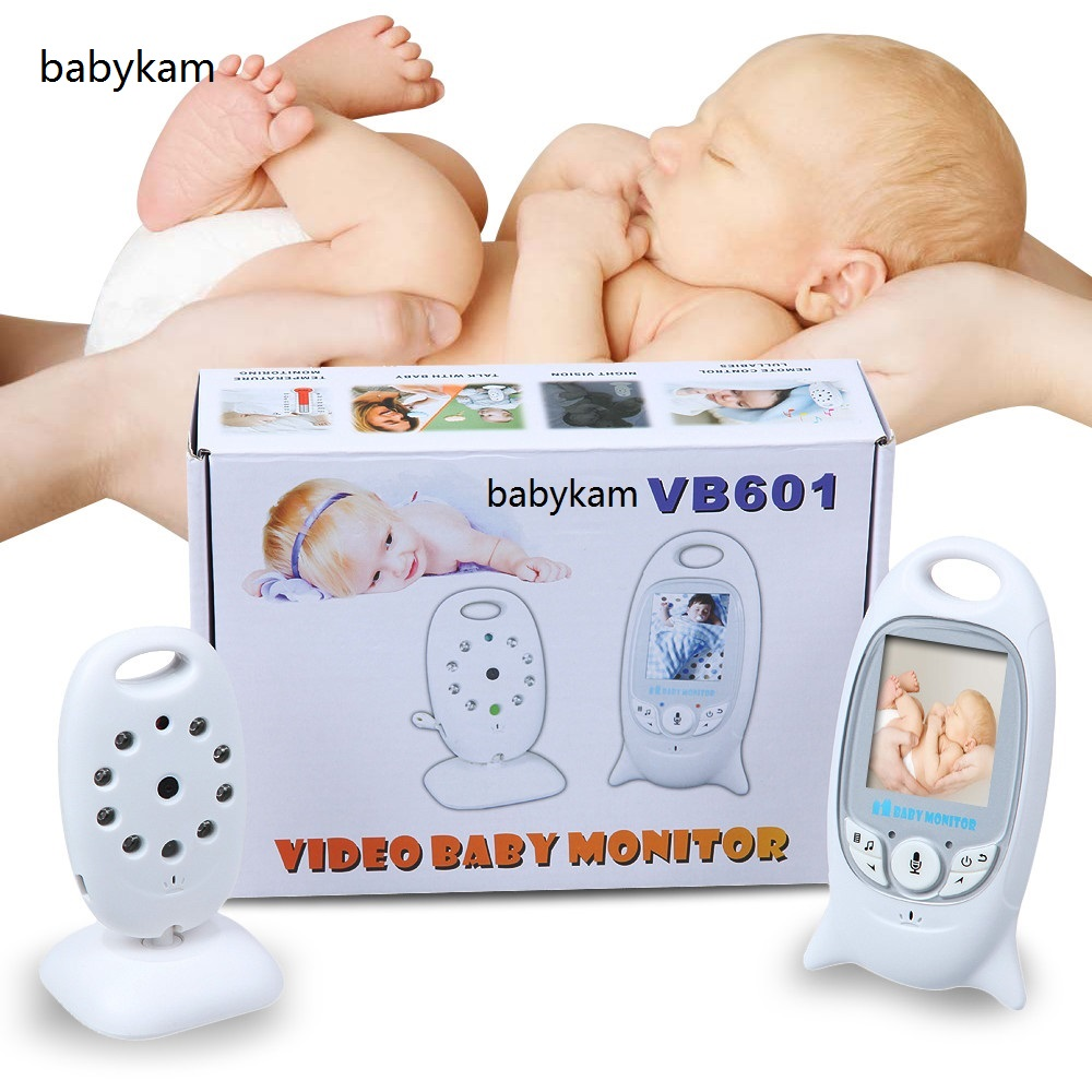 Babykam video baby monitor radio nanny 2.0 inch LCD Intercom IR Night vision Lullabies Temperature monitor wireless baby monitor