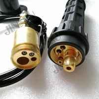 MIG MAG EURO stecker adptor, verbrauchsmaterialien verwenden für co2 mig schweißdraht feeder montage