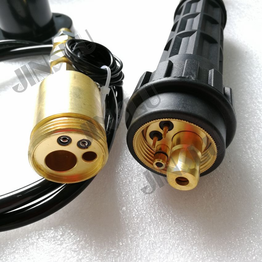 цена на MIG MAG EURO connector adptor,consumables use for co2 mig welding wire feeder assembly