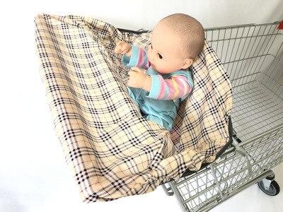 2 в 1 детская корзина гамак тележка для обеденного стула защиты антибактериальные безопасности дорожная подкладка Защитная крышка для детей - Цвет: 1