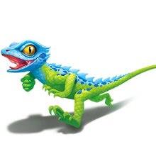 Электронные Домашние животные ящерица робот умный Хамелеон роботизированные животные могут быстро ползать милые детские пластиковые игрушки праздник подарок