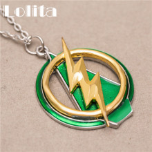 The Flash and Arrow Necklace