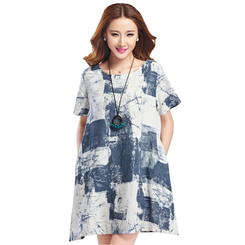 Aliexpress.com : Buy Summer Maternity Ink Plus Size Dress ...