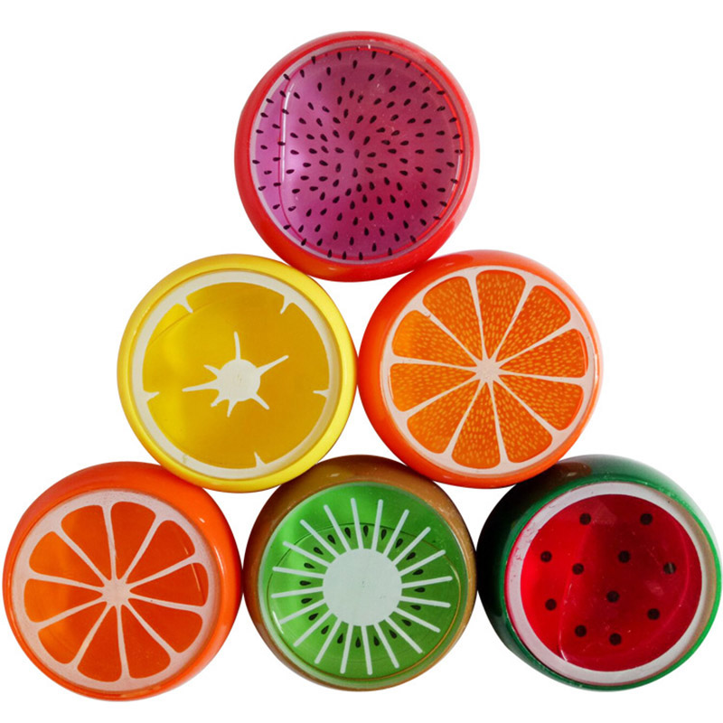 Fruit Magnetic Color Polymer Light Clay Slime Mud Toys Intelligent Hand Gum Toy Plasticine Rubber Mud Playdough Kids Gift