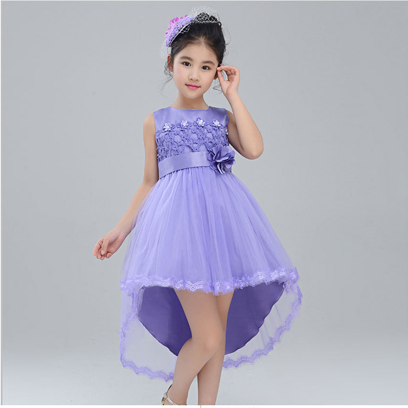 Teenage Girls Dress Prom Gown Costume for Kids Girl Lace Princess ...