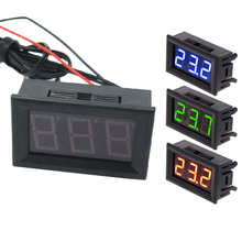 Digital LED -50 ~ 110C Thermometer Automotive Temperature Monitor Pane