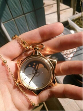 Sailor Moon Карманные Часы Кристалл Смокинг Маска Косплей Ожерелье Звезды Медальон Часы