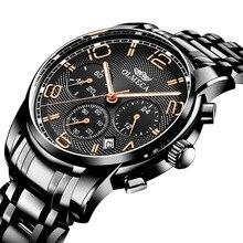 Relojes Homb Роскошные мужские часы лучший бренд кварцевые мужские наручные часы светящиеся руки мужские водонепроницаемые спортивные часы Relogio Masculino