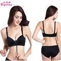 Sexy Bra Set 3/4 B Cup Super Push Up Cleavage Bra Panty Vs Secret Brand Women Seamless Underwear Set Pull LB Lingerie Sets