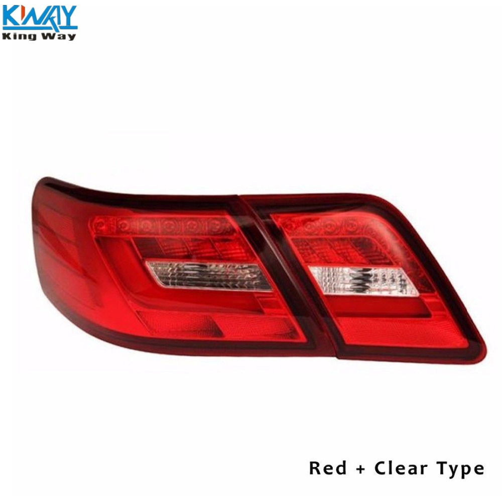 LED Tail Lights Rear Lamps Red Clear color Fit For Toyota Camry 2006 ...