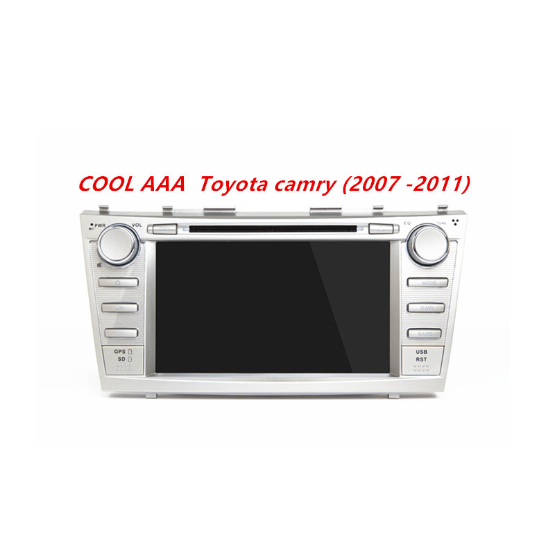 car radio DVD GPS Android 7.1.2 for toyotaa camry (2007-2011)camary/Aurion+gps navi navigation+radio+audio+stereo car styling 4G
