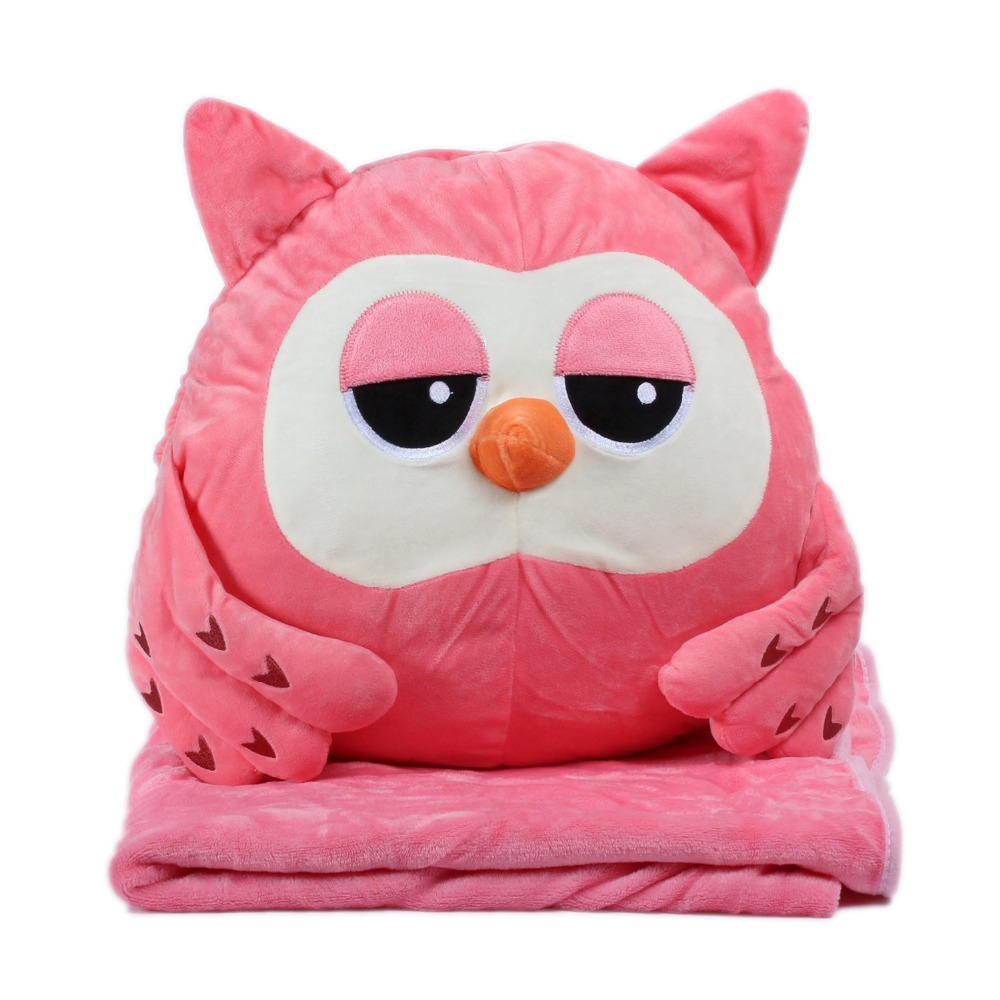 Worm Home Decoration Bedding Coral Wool Blanket Office Travel Cushion Blankets Birthday Gifts Cute Hamster Hold Pillow Blanket new knitted blankets towels luxury hotels home sofa wool blanket europe leisure jacquard cotton blanket decorative bedding