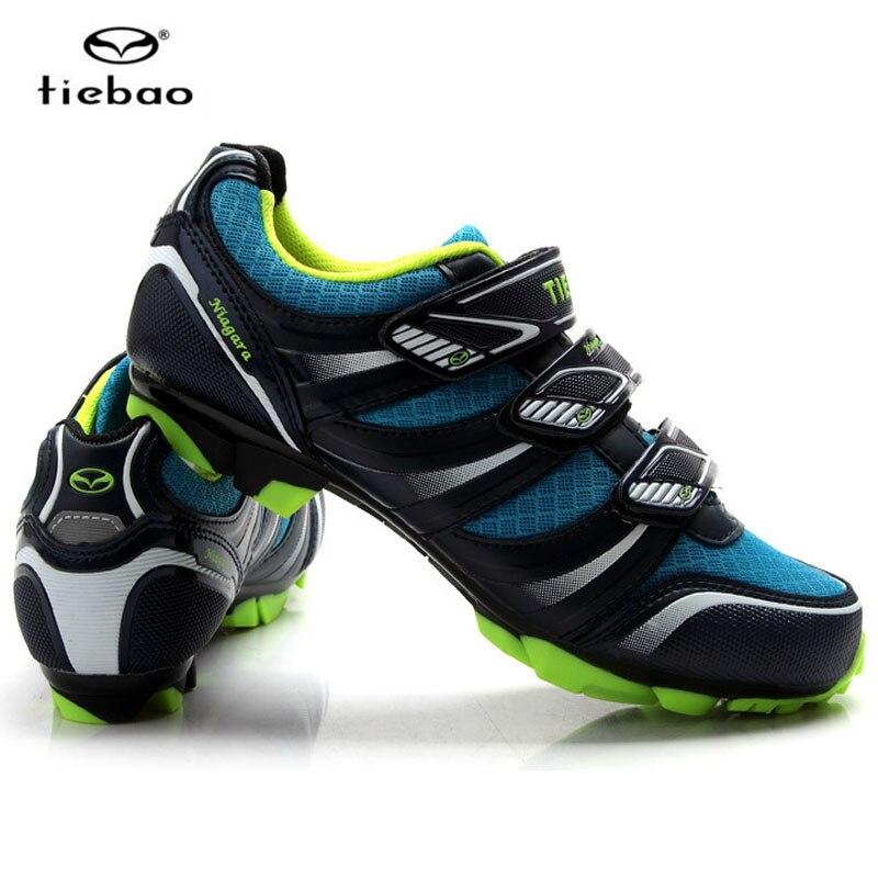 Цена за Tiebao MTB Велосипедные Туфли Для Мужчин и Женщин На Открытом Воздухе Спортивная Обувь Воздухопроницаемой Сеткой Обувь для Горных Велосипедов Ciclismo MTB Zapatillas Mujer