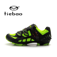 Tiebao New VTT Vélo Chaussures Loisirs Sport Vélo Chaussures Auto-verrouillage Vtt Chaussures Athlitic Chaussures zapatillas ciclismo