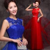 Fashion beautiful girl 2016 New Long Chiffon Evening Formal Party Ball Gown Prom Dress Free shipping