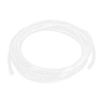 Air Compressor Fitting Clear Flexible PU Hose Tube 8mm x 5mm 5m 16.4ft насадка коса makita для ex2650lh 195651 3