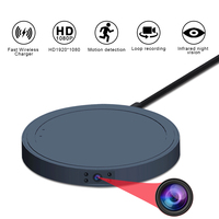 MD19B Mini Camera HD 1080P Video Wireless Charger Sensor Night Vision Camcorder Motion DVR Micro Camera Sport DV small cam
