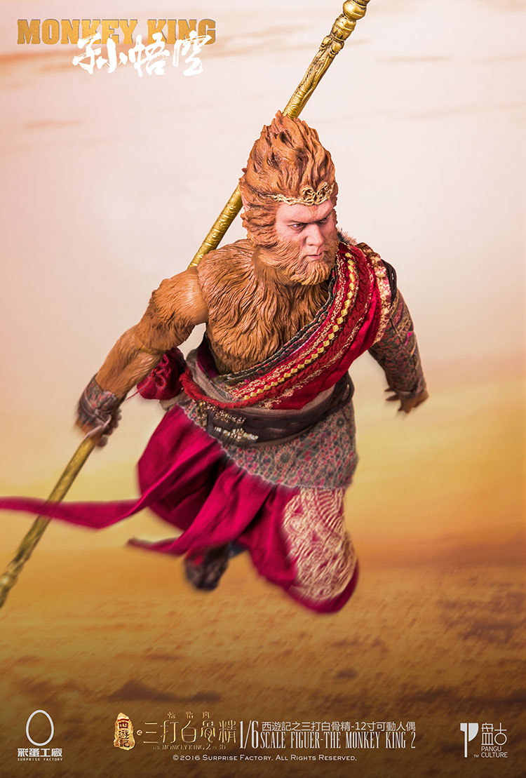 1 6 scale figure doll jurney to the west monkey king with 2 heads 12 action figures doll collectible figure model toy gift 1/6 scale figure doll Journey to the West Monks The Monkey King Sun Wukong 12 action figure doll Collectible figure toy model
