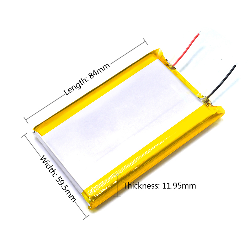 126090 5V Real Capacity 10000mah (polymer Lithium Ion Battery) Li-ion Battery For Tablet Pc 7 Inch MP3 MP4 For Dropship