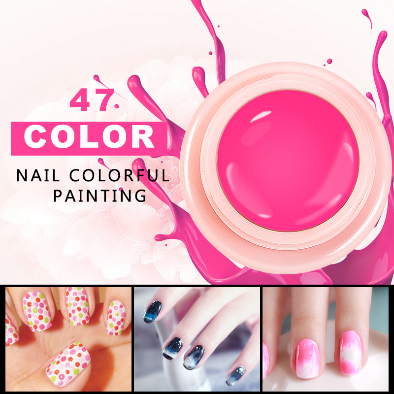 Lily angel Nail Painting Varnish New Fashion  Perfect 118 Pure Colors Effect UV LED Soak off Gel Polish Nail Color Lacquer