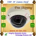 Real Hi3518E Built-in WIFI P2P Mini Megapixel Network Vandal proof Dome 720P H.264 IP Security Camera Alarm, Motion detection