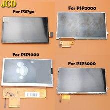 JCD 1 pièces écran daffichage LCD pour Sony PSP1000 2000 3000 PSPgo/PSP Go écran LCD pièces de rechange