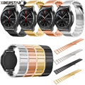 New Genuine Stainless Steel Bracelet Smart Strap Watchbands For Samsung Gear S3 Frontier Watch