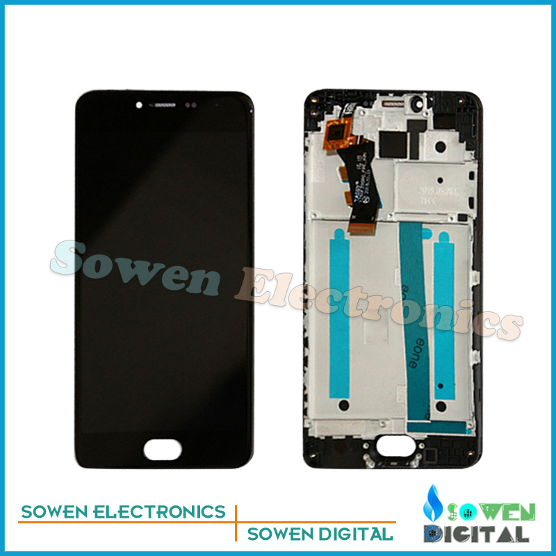 ФОТО for Meizu meilan 3 M3 mini LCD display screen with touch screen digitizer Frame assembly full sets , 100% gurantee test