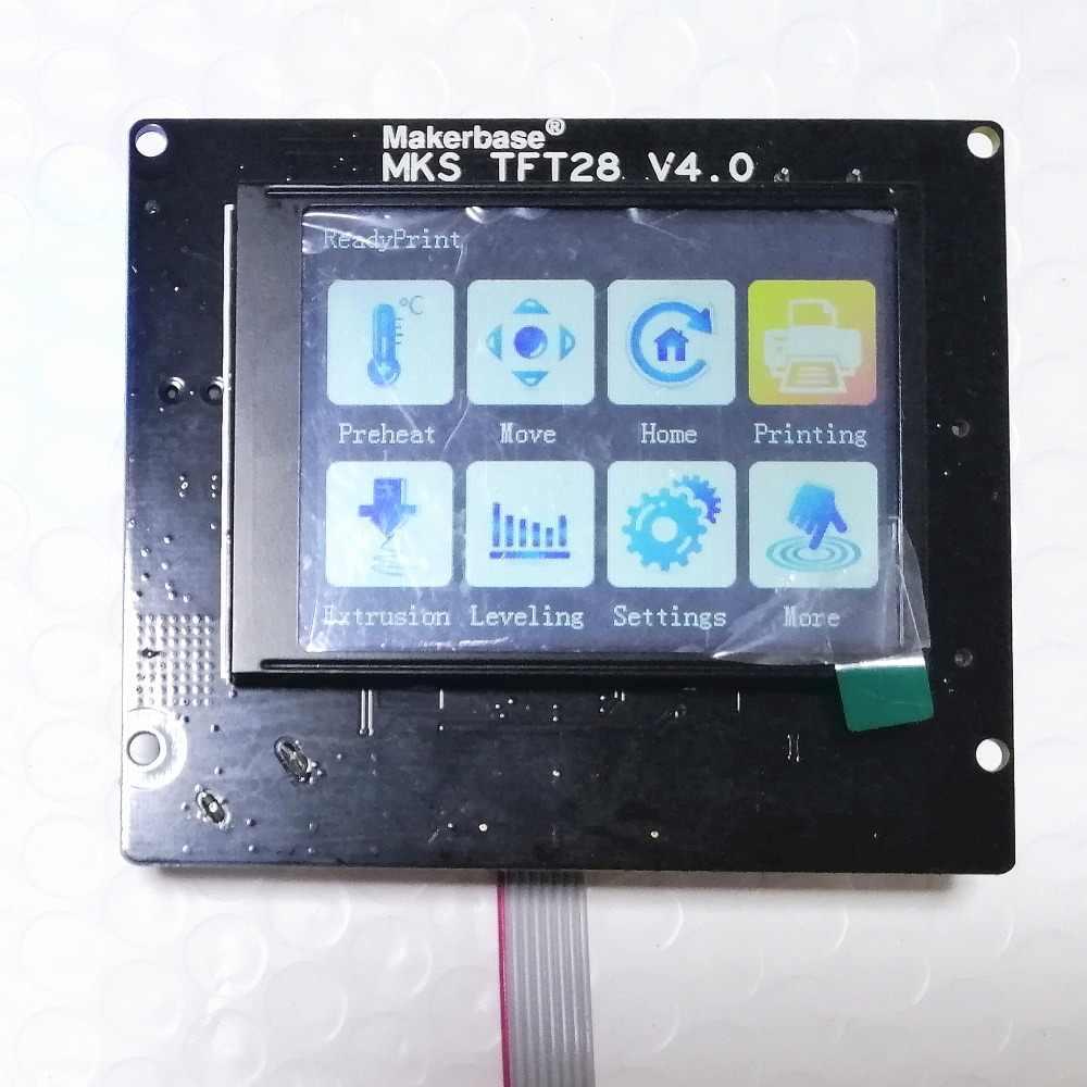 3D Máy In Mẹ Ban MKS Rumba Plus + MKS TFT 28 Màn Hình Cảm Ứng Hiển Thị MKS LCD Rumba-Ban 3D in DIY Thiết Bị Bộ Máy In