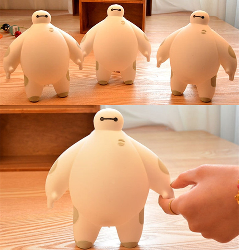 2018 Squeeze Squishys Cute baymax Cream Scented Squishy Funny Gadgets Anti Stress Novelty Antistress Toys Gift